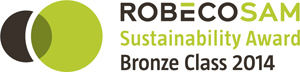Snam awarded in Robecosam Bronze Class 2014