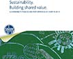 Sustainability. Building Shared Value