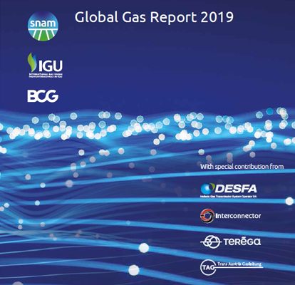Snam global gas report 2019
