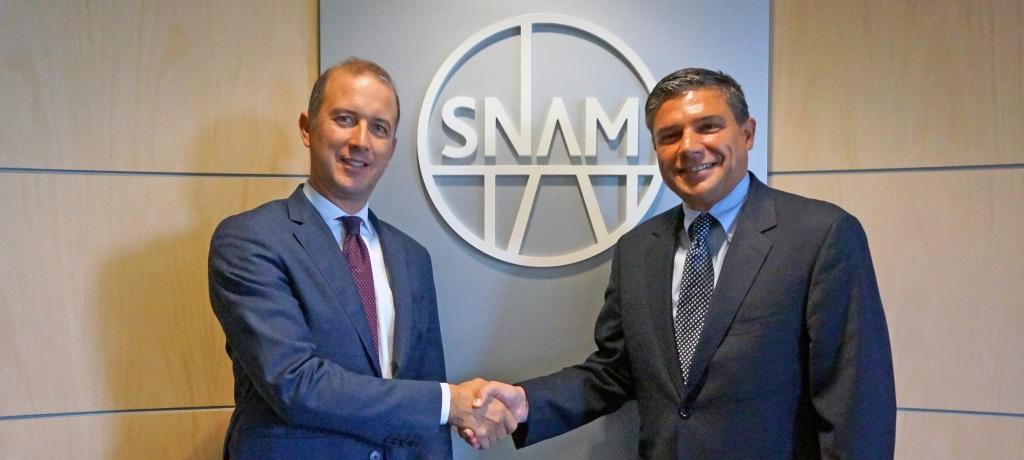 Snam home page for Enea finanziaria 2017